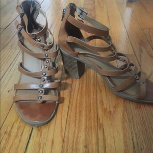 Mossimo chunky heeled sandals